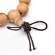 5-Loop Wrap Style Buddhist Jewelry(X-BJEW-S125-21)-2