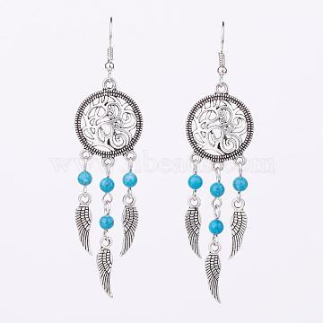 Synthetic Turquoise Earrings
