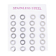304 Stainless Steel Ear Studs(X-EJEW-E225-02P)-3