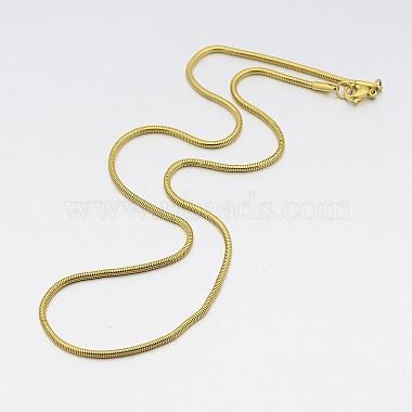 Herringbone Chain Necklace for Men(NJEW-A288B-1.9-G)-2