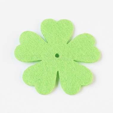 Clover Non Woven Fabric Embroidery Needle Felt for DIY Crafts(X-DIY-WH0078-01)-3