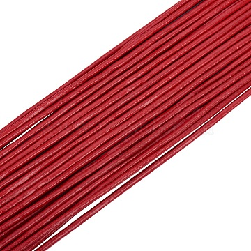 2mm Red Cowhide Thread & Cord