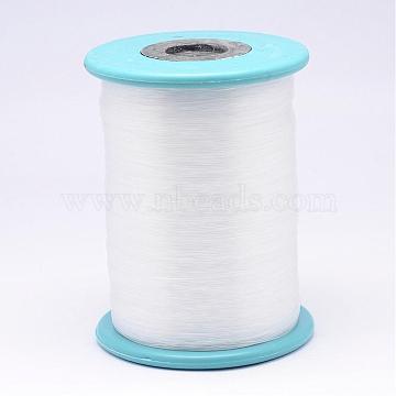 Nylon Wire, Fishing Thread, Clear, 0.5mm, about 984.25 yards(900m)/roll(NWIR-N013-01-0.5mm)