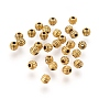 Antique Golden Bicone Alloy Spacer Beads(X-GLF0300Y)