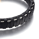Leather Cord Bracelets(BJEW-E352-11B-G)-2