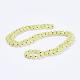 Natural Lemon Jade Beaded Necklaces(X-NJEW-P202-36-B13)-1