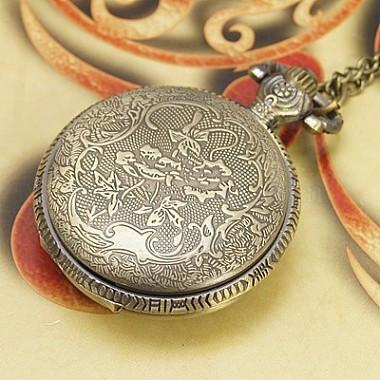 Модные часы карманные железа(WACH-G006-M2)-4