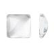 Transparent Clear Glass Square Cabochons(X-GGLA-A001-10mm)-1