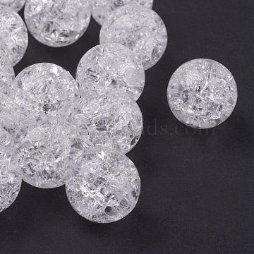 12mm White Round Acrylic Beads