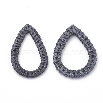 47mm Black Drop Others Linking Rings