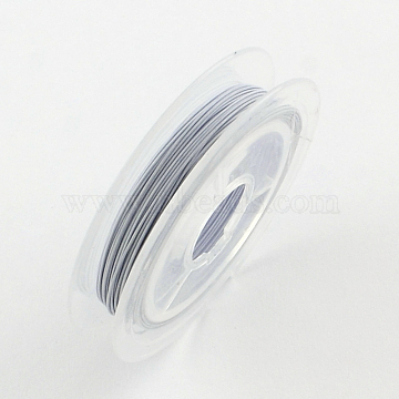 Silver 10m x 0.45mm Nylon-coated Steel Jewellery Wire