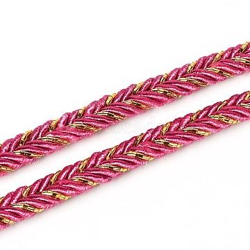 6mm DeepPink Cloth Thread & Cord