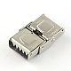 Smooth Surface 201 Stainless Steel Watch Band Clasps(X-STAS-R063-79)-3