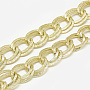 LightKhaki Aluminum Double Link Chains Chain(CHA-S001-081A)