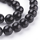 Natural Obsidian Beads Strands(X-G-G099-12mm-24)-3