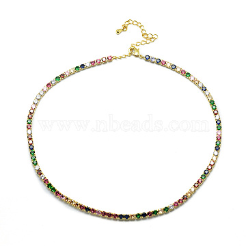Colorful Brass Necklaces