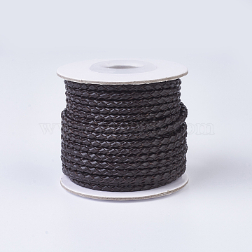 3mm CoconutBrown Leather Thread & Cord