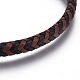 Leather Braided Cord Bracelets(BJEW-E352-28G)-2