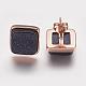 Synthetic Goldstone Stud Earrings(EJEW-F139-A06)-3