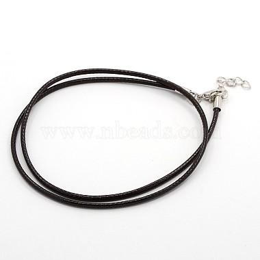 Вощеный шнур ожерелье материалы(MAK-F003-07)-1