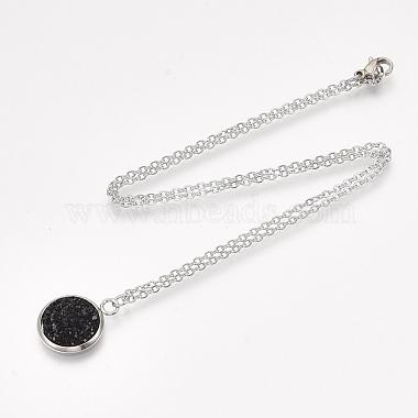201 Stainless Steel Pendant Necklaces(NJEW-T009-JN149-12)-2