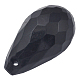 Black Color Acrylic Faceted Drop Pendants(X-PL508Y-17)-1