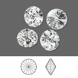 cristal autrichien cabochons de strass, 1122, Rivoli Chaton, facettes, déjouer retour, 001 _crystal, 18 mm(X-1122-18mm-F001)
