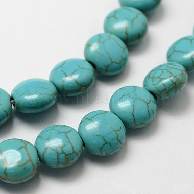 Synthetic Howlite Bead Strands(X-G-P228-12-10mm)-3