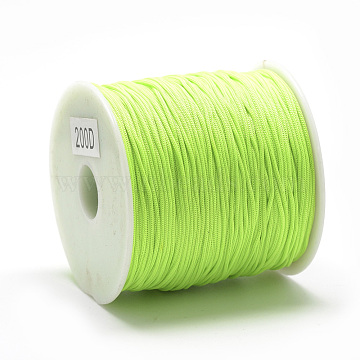 0.8mm LawnGreen Polyester Thread & Cord
