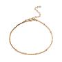 Acier Inoxydable Bracelet De Cheville(AJEW-G024-09G)