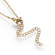 Brass Initial Pendant Necklaces(NJEW-I230-24G-M)-2