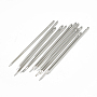 Iron Canvas Leather Sewing Stitching Needles, Platinum, 58x1.6mm, Hole: 1x3mm