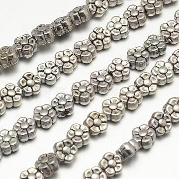 5mm Flower Alloy Beads