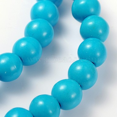 15.5inches Synthetic Howlite Beads Strands(X-GSR6mmC129)-2