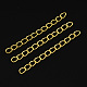 Iron Ends with Twist Chains(CH-CH017-G-5cm)-1