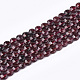 Natural Garnet Beads Strands(G-T108-56)-1