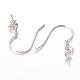 Sterling Silver Earring Hooks(STER-I005-51P)-1