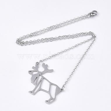 201 Stainless Steel Pendant Necklaces(NJEW-T009-JN092-1-40)-2