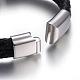Leather Braided Cord Bracelets(BJEW-E352-36P)-3