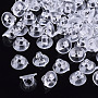 Clear Plastic Hair Findings(FIND-T064-006A-01)