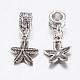 Tibetan Style Alloy European Dangle Beads(PALLOY-F199-42AS)-3