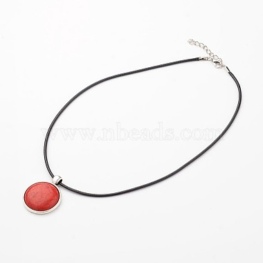 Red Gemstone Necklaces