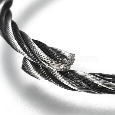 регулируемый 304 расширяемый браслет из нержавеющей стали(BJEW-M286-02A)-3