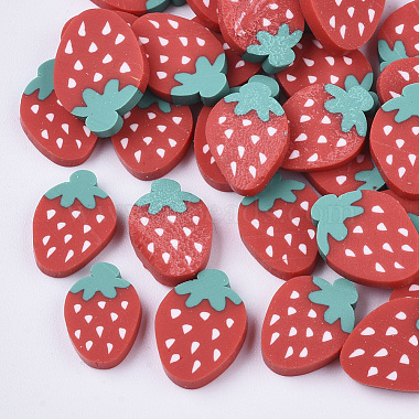 Handmade Polymer Clay Cabochons(X-CLAY-S091-009)-1
