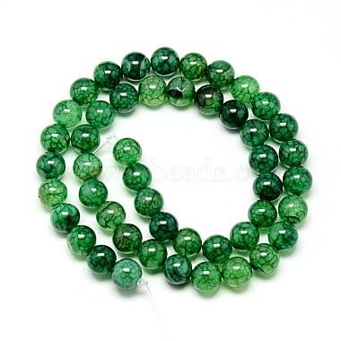 Natural Dragon Veins Agate Beads Strands(X-G-Q948-81I-8mm)-2