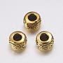 Antique Golden Rondelle Alloy Spacer Beads(X-GAB793)