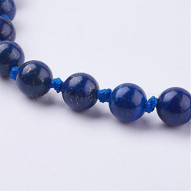 Nylon Tassle Pendant Necklace(NJEW-F159-B03)-3