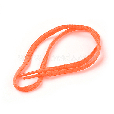 Coral Polyester Shoelace