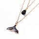 Zinc Alloy Enamel Double Layered Necklaces(NJEW-JN02489-03)-2