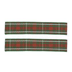 """Rubans polyester gros grain, avec grille, colorées, 3/8"""" (9 mm); environ 100yards / rouleau (91.44m / rouleau)(ORIB-G008-9mm-B017)"""
